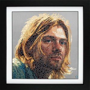 come as you are (cobain) - framed