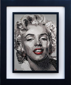 Marilyn - The Blonde - Framed