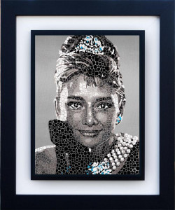audrey hepburn - the fair lady - framed