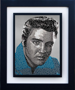 Elvis - The King - Framed