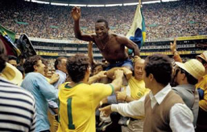 World Cup Victory, 1970 - Mounted