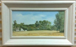 Finchingfield, Essex - Framed