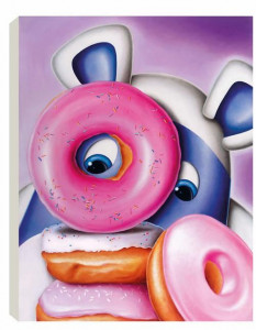 Donut Touch - Box Canvas