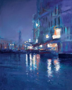 moonlight in venice ii - mounted