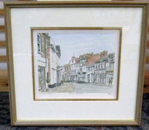Great Dunmow - Framed