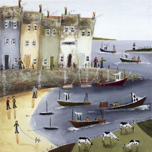 quayside i - canvas - board only
