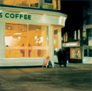 the coffee house - print only