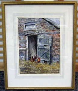 the barn - framed