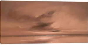 cocoa skies iii - box canvas