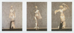 White Dancers Triptych