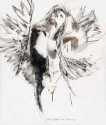 Study For Floating Angel 11