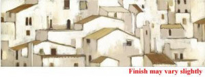 Sienna Rooftops - Box Canvas