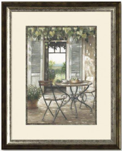 Table For Two - Framed