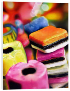 sweets for my sweets - box canvas