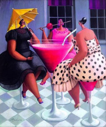 Ladies Wot Lunch - Canvas