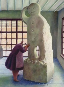the biscuit factory - canvas - with slip