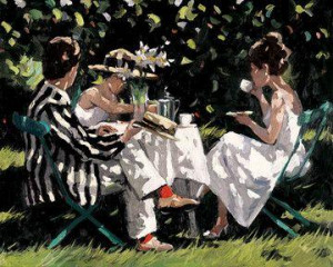 Tea On The Lawn - Board Only