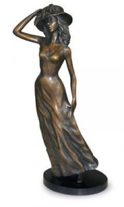 dressed for the occasion - bronze
