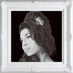 amy - framed