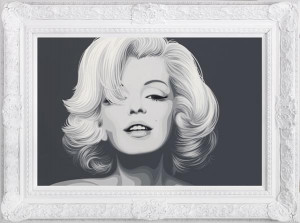 Norma Jeane - The Diamond Dust Collection - Framed