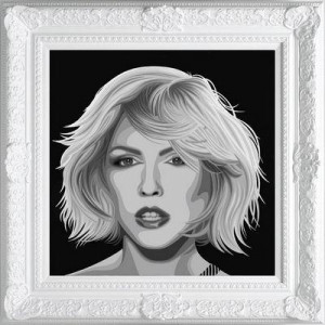 The Diamond Dust Collection - Blondie  - Framed