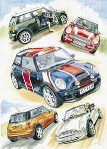 The Greatest Little Car - Mini Cooper - Print