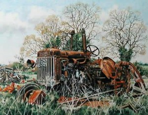 fordson p6 at blox hall - print