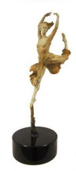 Leap Of Faith - Bronze Stone Patina
