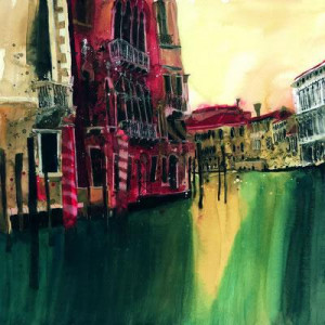 Colours Of Venice IV - Mounted