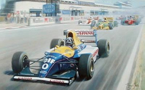 The Perfect Start - Damon Hill - Mounted