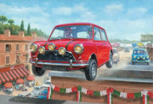 italian job 6 - going for gold (canvas board) - with slip