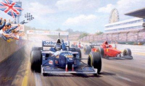 damon's dream - damon hill - mounted