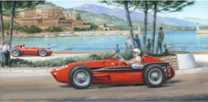 moss - maserati - monaco - magic - mounted