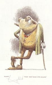 Toad - Wind In The Willows - Print