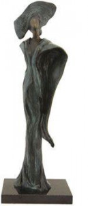 Empress Orchid, The Last of an Empire - Sculpture - Bronze