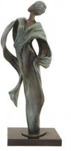 Deep Within Me IV - Sculpture - Bronze