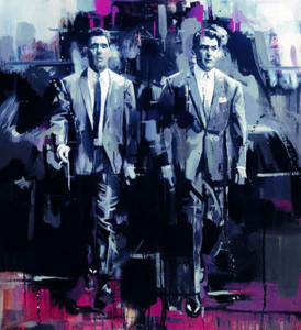 brothers in arms - the krays - box canvas
