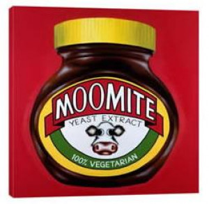 Moomite (Marmite Jar) - Box Canvas