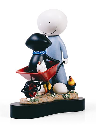 Daisy Trail - Sculpture  by Doug Hyde
