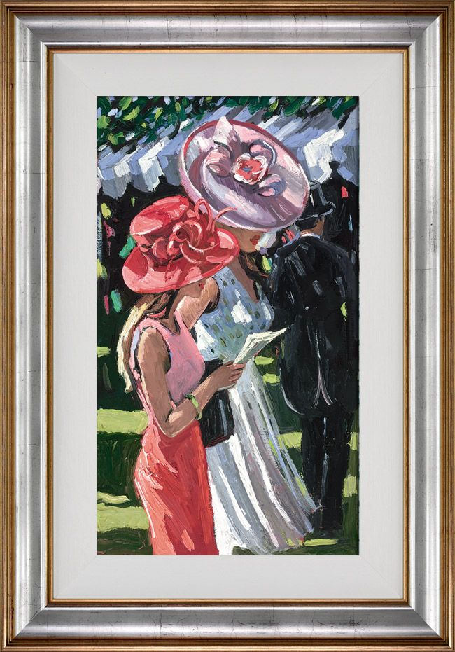 Ascot Ladies - Framed by Sherree Valentine Daines