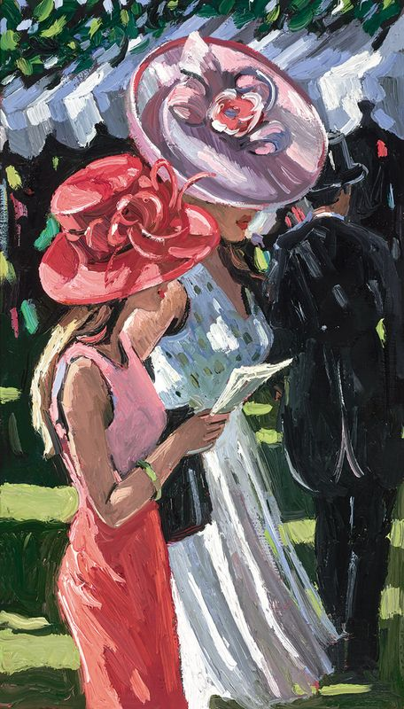 Ascot Ladies by Sherree Valentine Daines