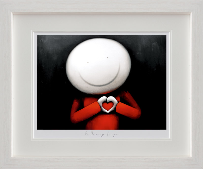 A Message For You - Framed by Doug Hyde