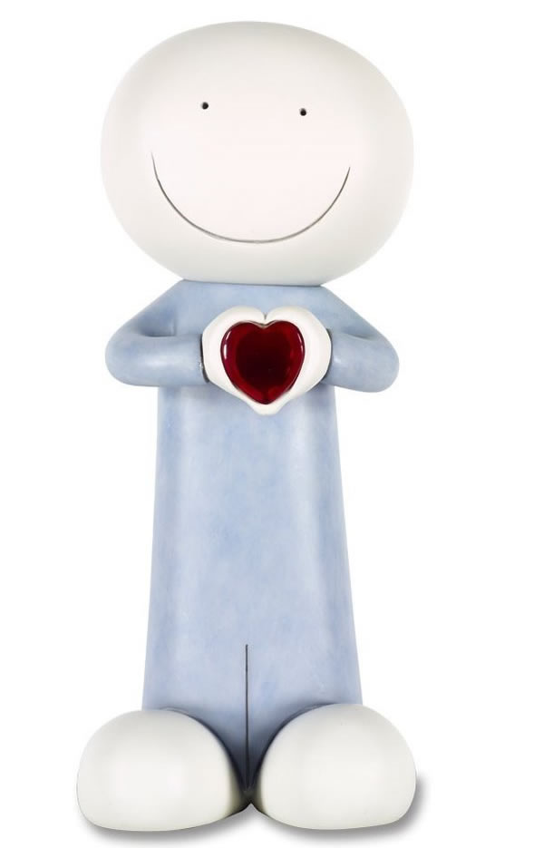 A Message For You  - Sculpture by Doug Hyde