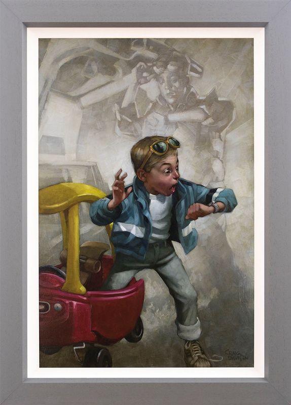 Playtime - Original - Framed by Craig Davison