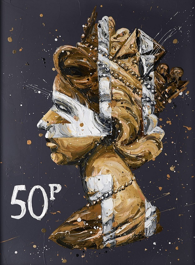 50K Queen - Canvas - Framed by Paul Oz