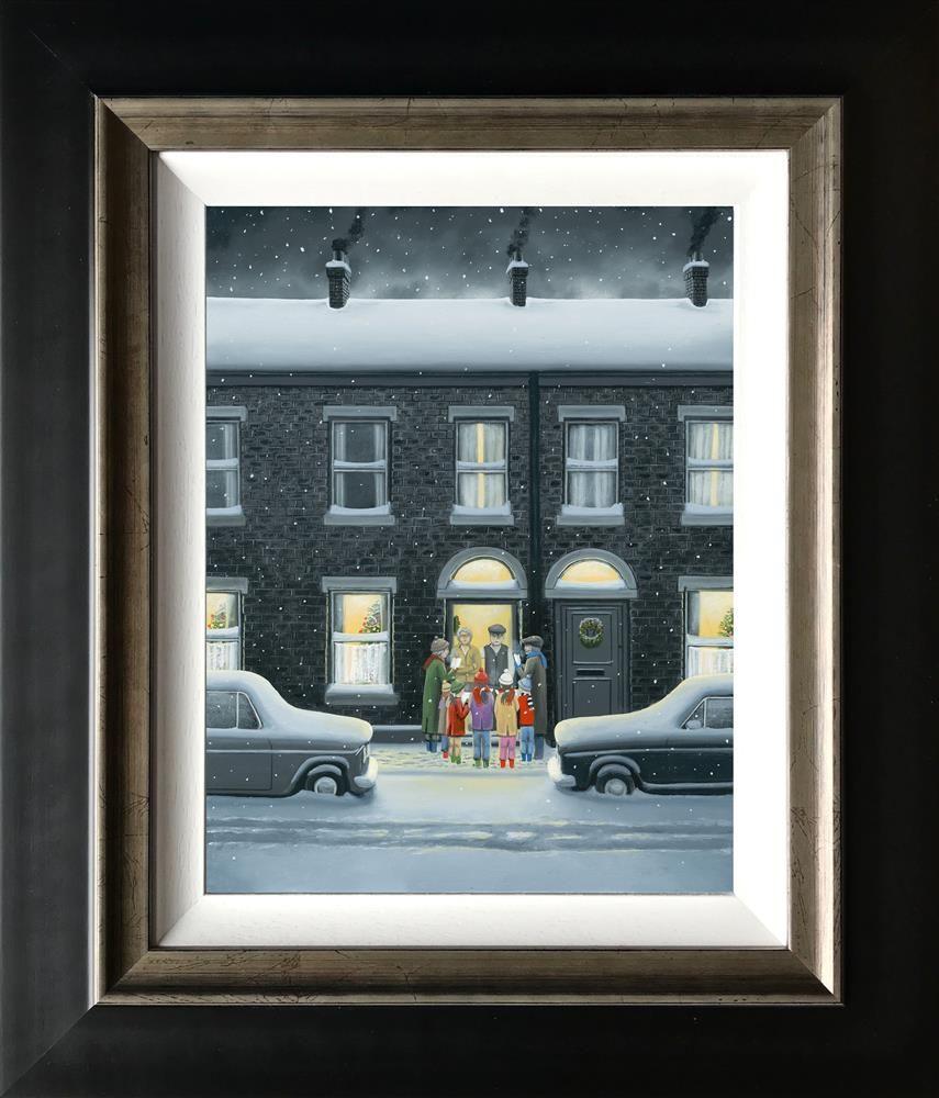 A Christmas Carol - Canvas - Framed by Leigh Lambert
