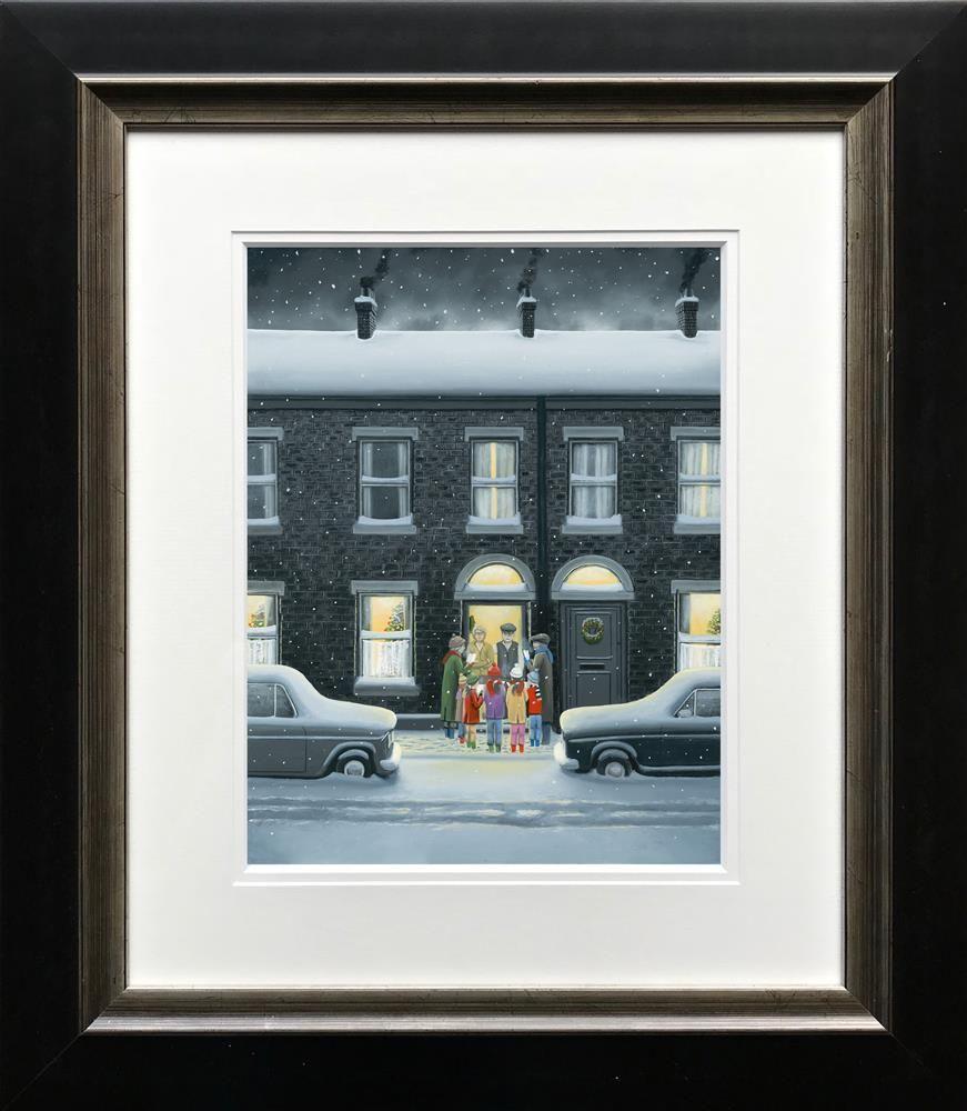 A Christmas Carol - Paper - Framed by Leigh Lambert