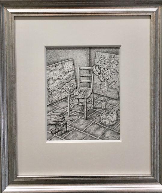 A Gift For Vincent - Original - Framed by Paul Horton