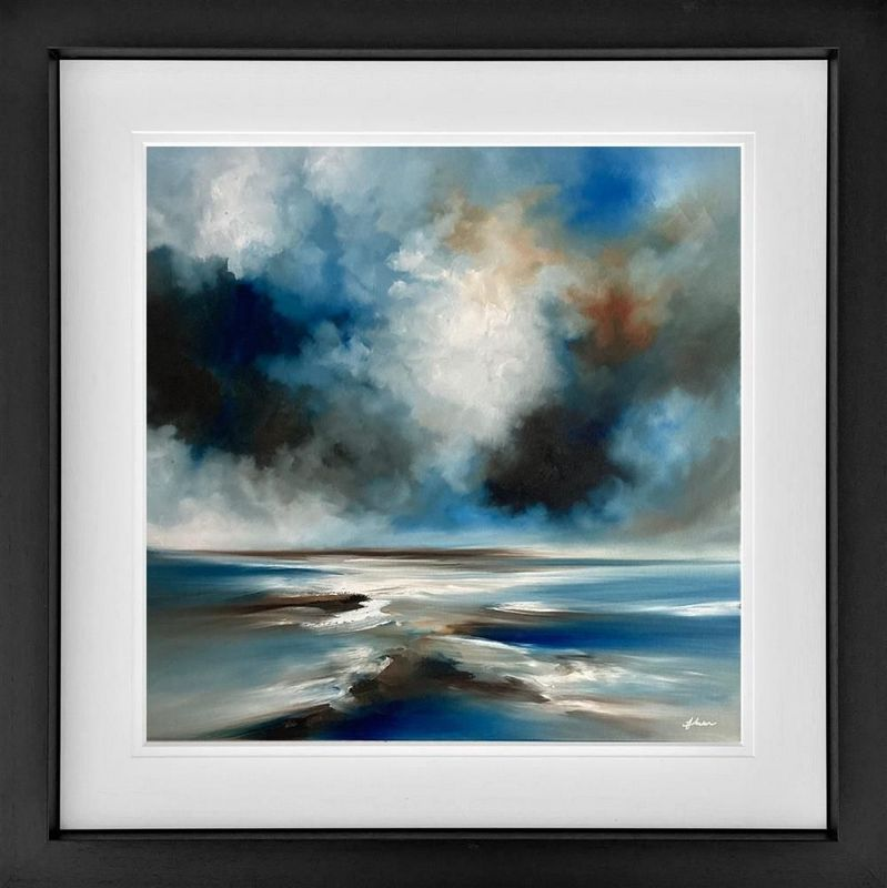 A Moment In Time - Black - Framed by Alison Johnson