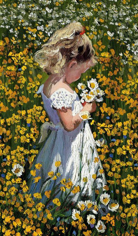 A Posie Of Pretty Daisies by Sherree Valentine Daines